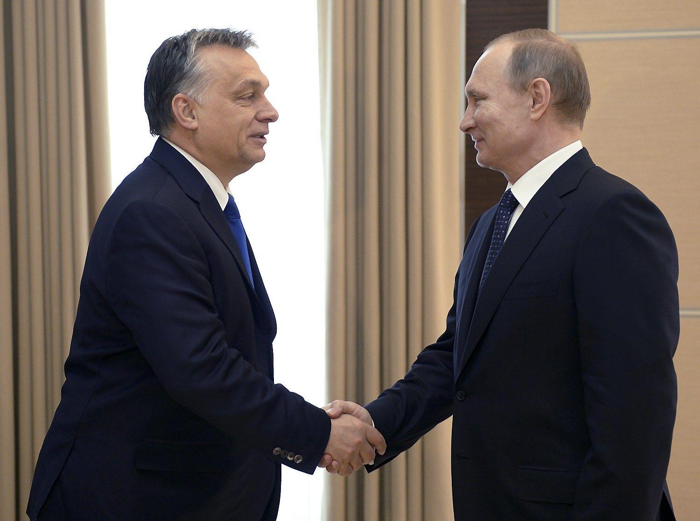 Putinas dar kartą lanko jam svetingiausią ES sostinę