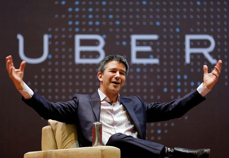"""Travisas Kalanickas, """"Uber"""" vadovas. Danisho Siddiqui (""""Reuters"""" / """"Scanpix"""") nuotr."""
