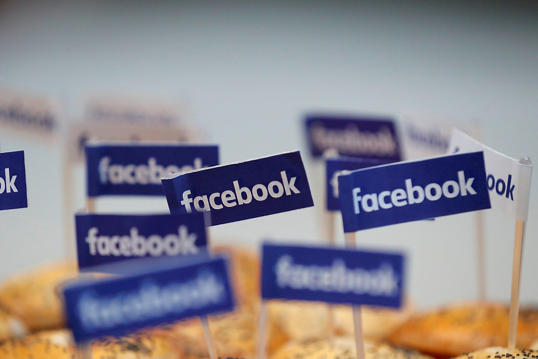 """""""Facebook"""" padvigubino pelną"""