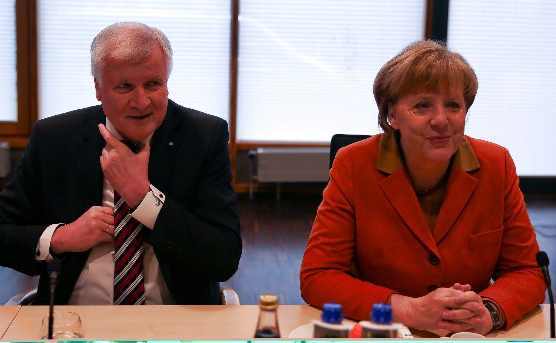 Stiprus konkurentas nutildė Merkel oponentą