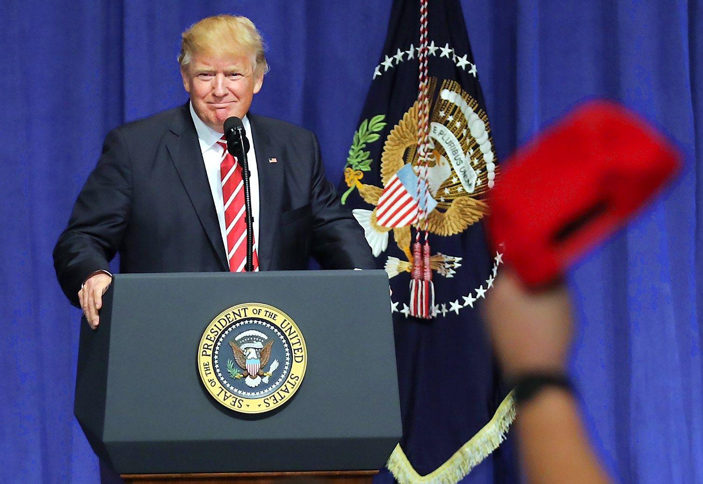 Trumpas išreiškė tvirtą paramą NATO