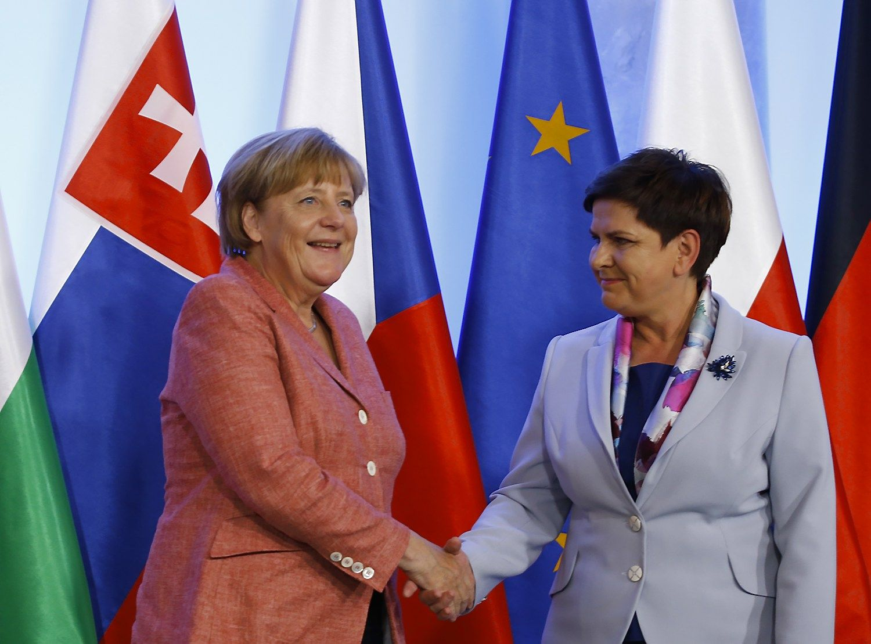 Varšuvoje Merkel sieks išlaikyti ES vienybę