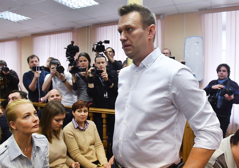 Putino kritikui Navalnui – smūgis