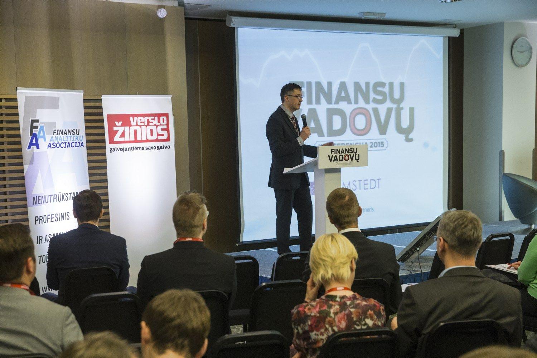 """Paaiškėjo 10 konkurso """"Metų finansų vadovas 2017"""" finalininkų"""