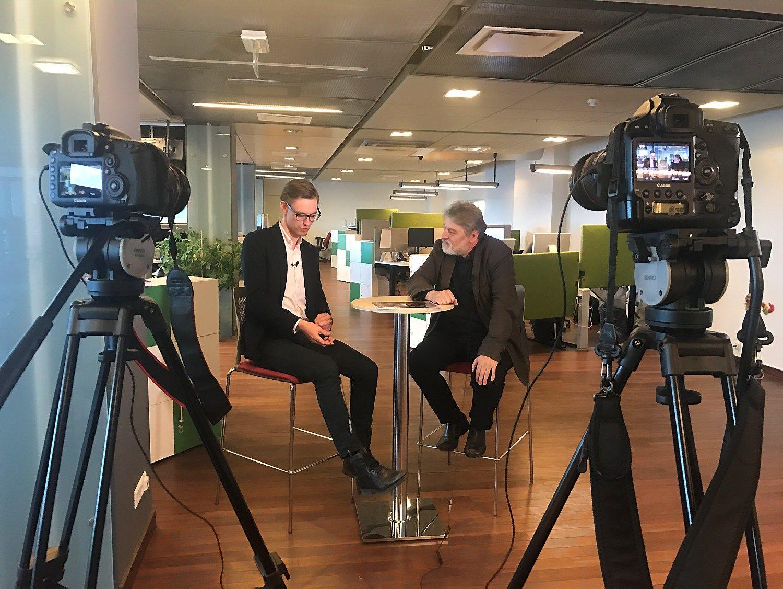 """Išmani Lietuva"" šoka į interneto televiziją: 1 laida"