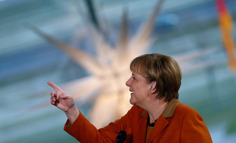 Angelos Merkel viso gyvenimo darbui gresia pavojus