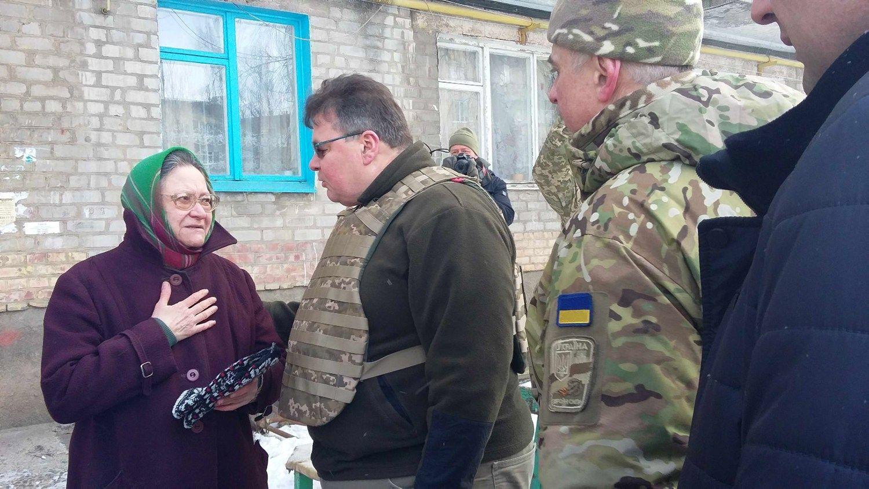 Linkevičius aplankė suaktyvėjusius karo veiksmuspatiriančią Ukrainą