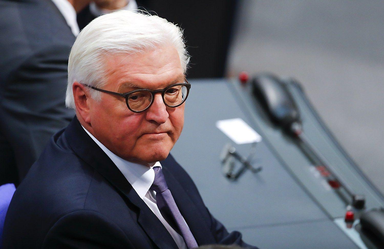 Naujuoju Vokietijos prezidentu tapo buvęs URM vadovas Steinmeieris