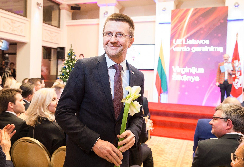 """Virginijui Šikšniui – premija iš farmacininkės """"Novo Nordisk"""""""