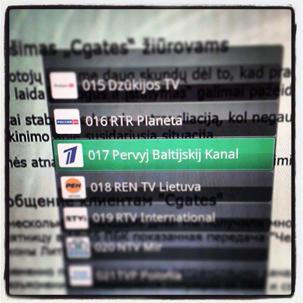 Kirtis propagandą skleidusiam kanalui: uždraudė naudoti Lietuvos vardą