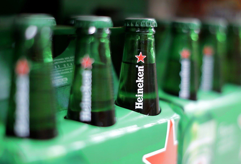 """""""Heineken"""" perka japonų alaus versląBrazilijoje"""