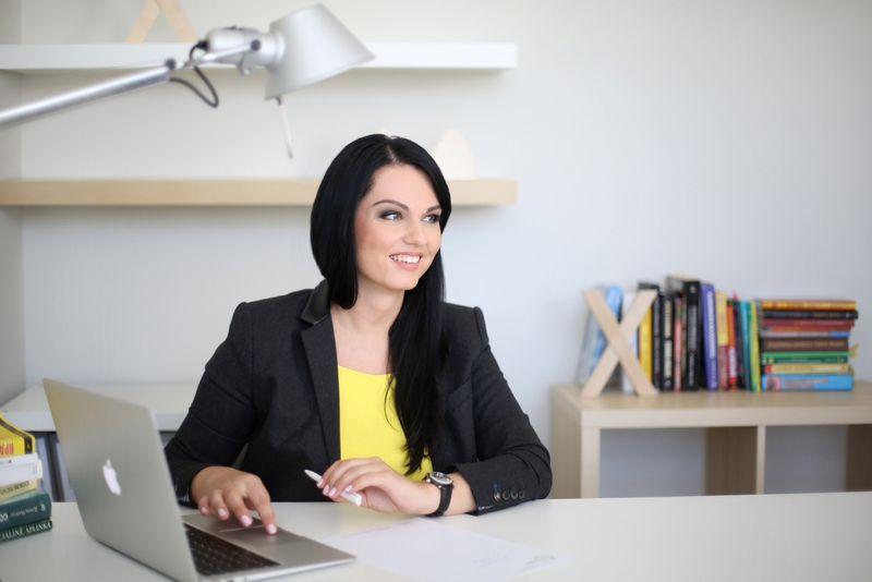 """Gintė Žilinskienė, UAB """"Atrankos"""" savininkė ir direktorė: """"Mano tikslas nebuvo pelnas čia ir dabar, visada žiūrėjau į ilgalaikę perspektyvą, todėl nuo pradžių man svarbiausia buvo sukurti ir pasiūlyti kokybišką paslaugą."""" Bendrovės nuotr."""
