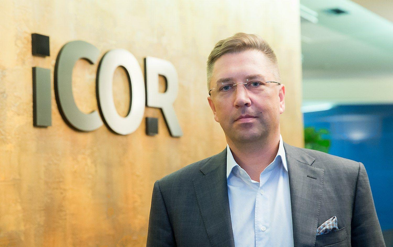 """Andrius Janukonis, koncerno """"Icor"""" valdybos pirmininkas bei vienas akcininkų. Juditos Grigelytės (VŽ) nuotr."""
