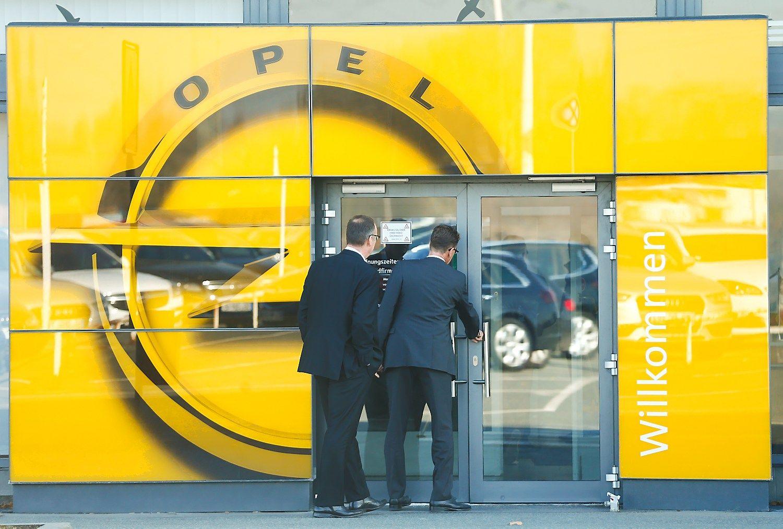 """Prancūzai iš """"General Motors"""" nori įsigyti """"Opel"""""""