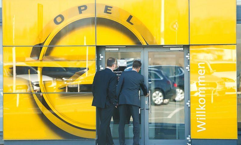 """Opel"". Ralpho Orlowskio (""Reuters"" / ""Scanpix"") nuotr."