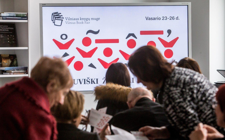 Vilniaus knygų mugės kryptis – lietuviški ženklai pasaulyje