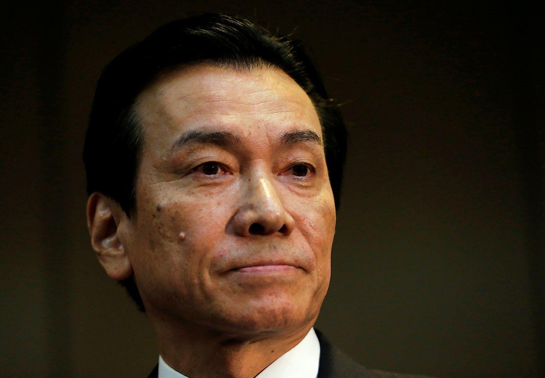 """""""Toshiba""""valdybos pirmininkastraukiasi, finansinių duomenų skelbimas atidėtas"""