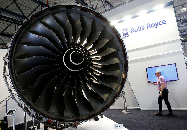 """""""Rolls-Royce"""" paniro į rekordinius nuostolius"""