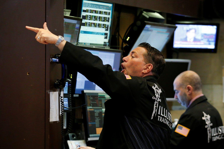Rekordinės žymos JAV akcijų rinkoje – 20 trln. USD, 700 mlrd. USD