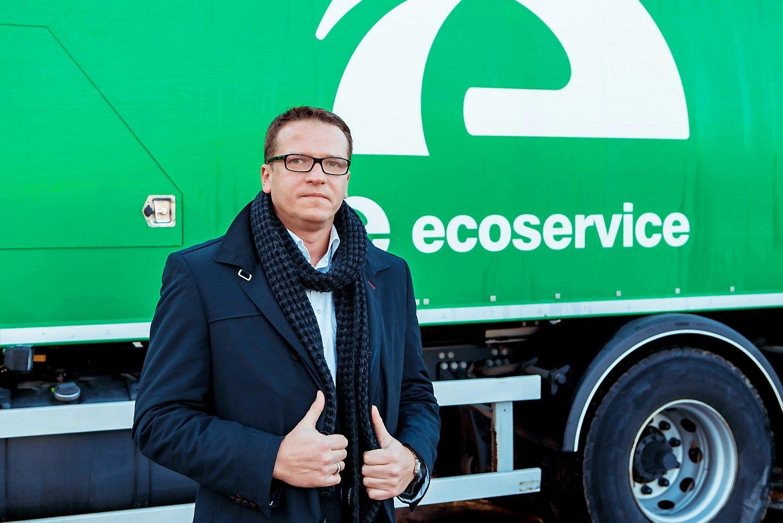 """Saulius Urbonas, """"Ecoservice"""" generalinis direktorius. Bendrovės nuotr."""