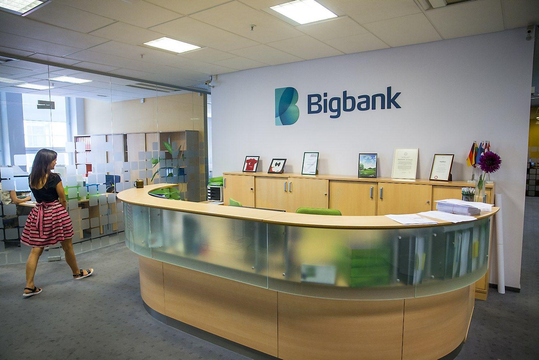 """Bigbank"" Lietuvoje dvigubino pelną"
