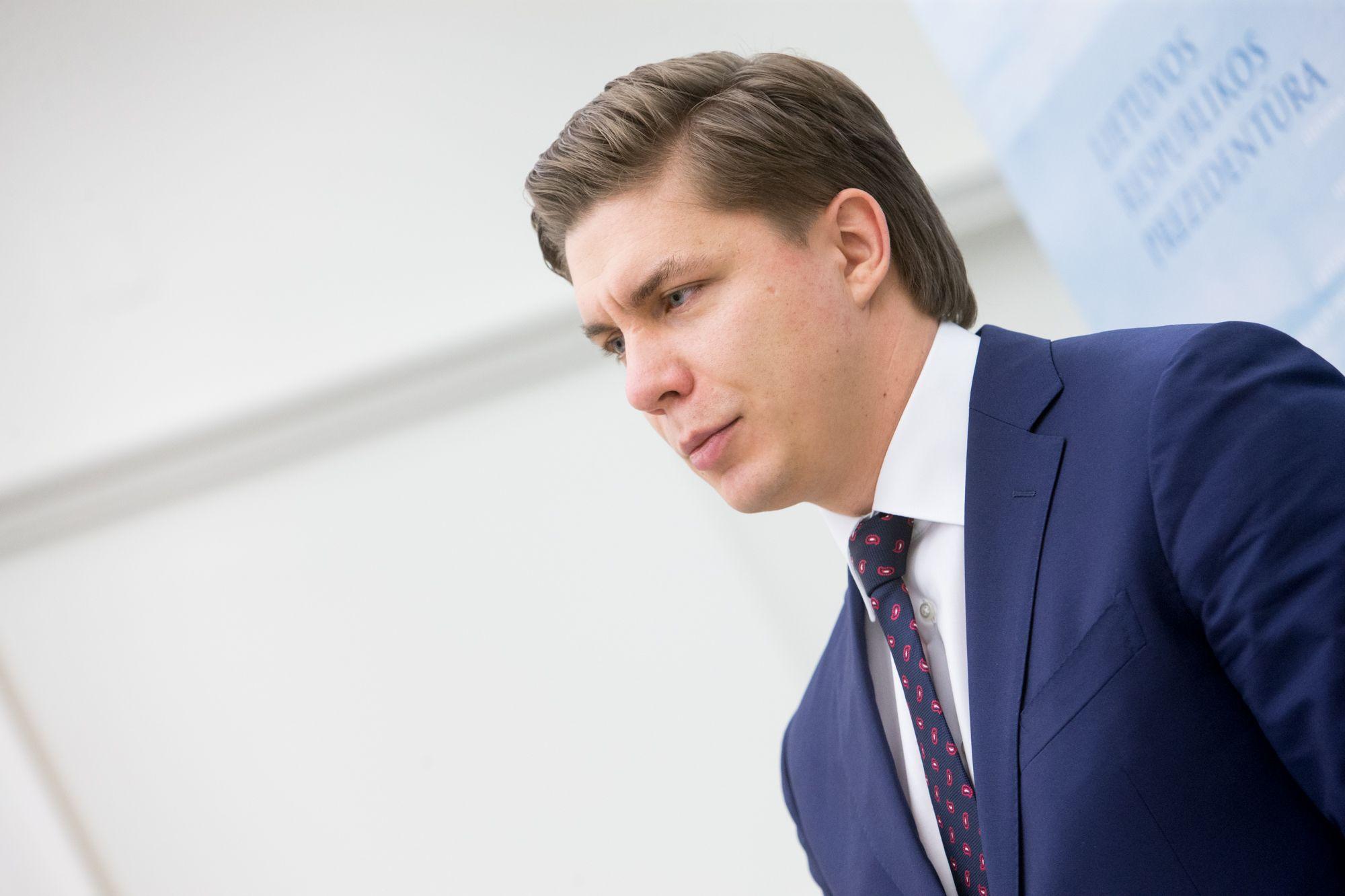 """Mindaugas Sinkevičius, ūkio ministras: """"Kai kurios iš mūsų pasiūlytų priemonių bus įtrauktos į Vyriausybės programos įgyvendinimo priemonių planą."""" Juditos grigelytės (VŽ) nuotr."""
