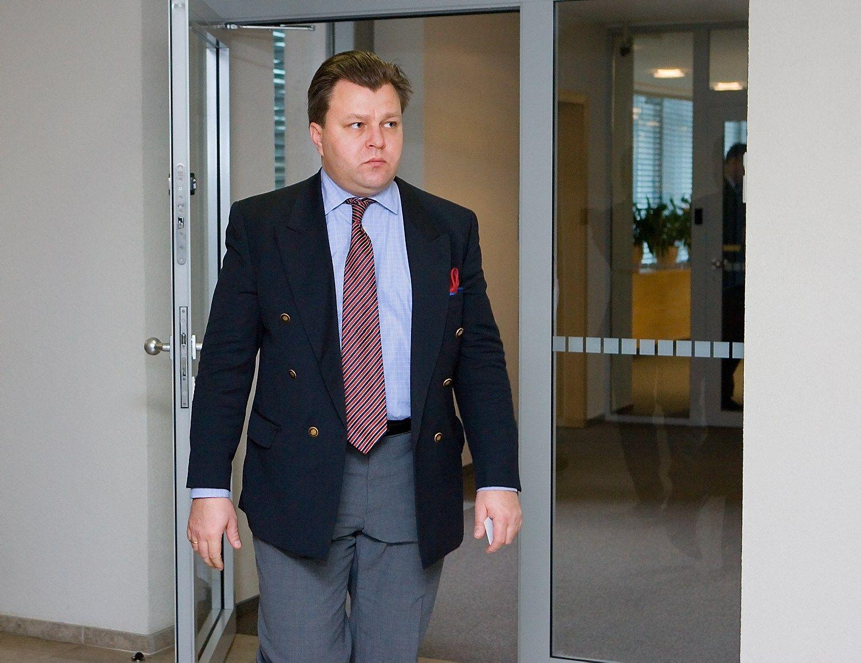 """""""MG Baltic"""" byloje kaip liudininkas apklaustas Mantas Adomėnas"""