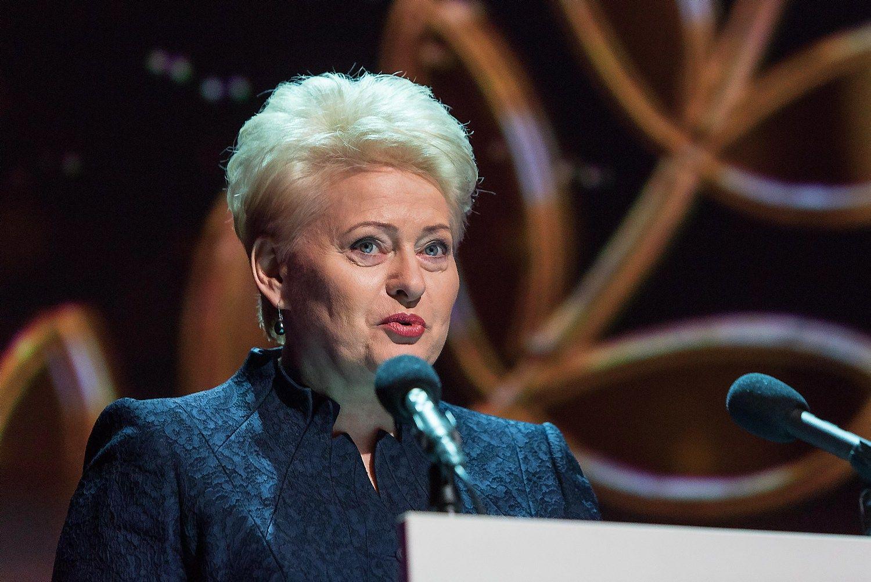 """Grybauskaitė Miunchene susitiks su JAV ir """"Google"""" viceprezidentais"""
