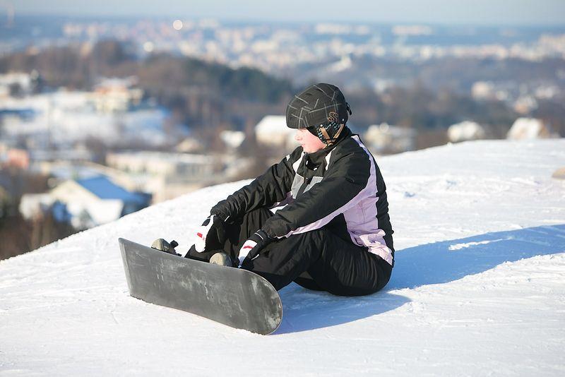 """Snieglentės suvokiamos kaip """"pavojinga"""" veikla. Kitaip turbūt nei, tarkime, slidinėjimas, kuris yra """"normalus"""". Juditos Grigelytės (VŽ) nuotr."""