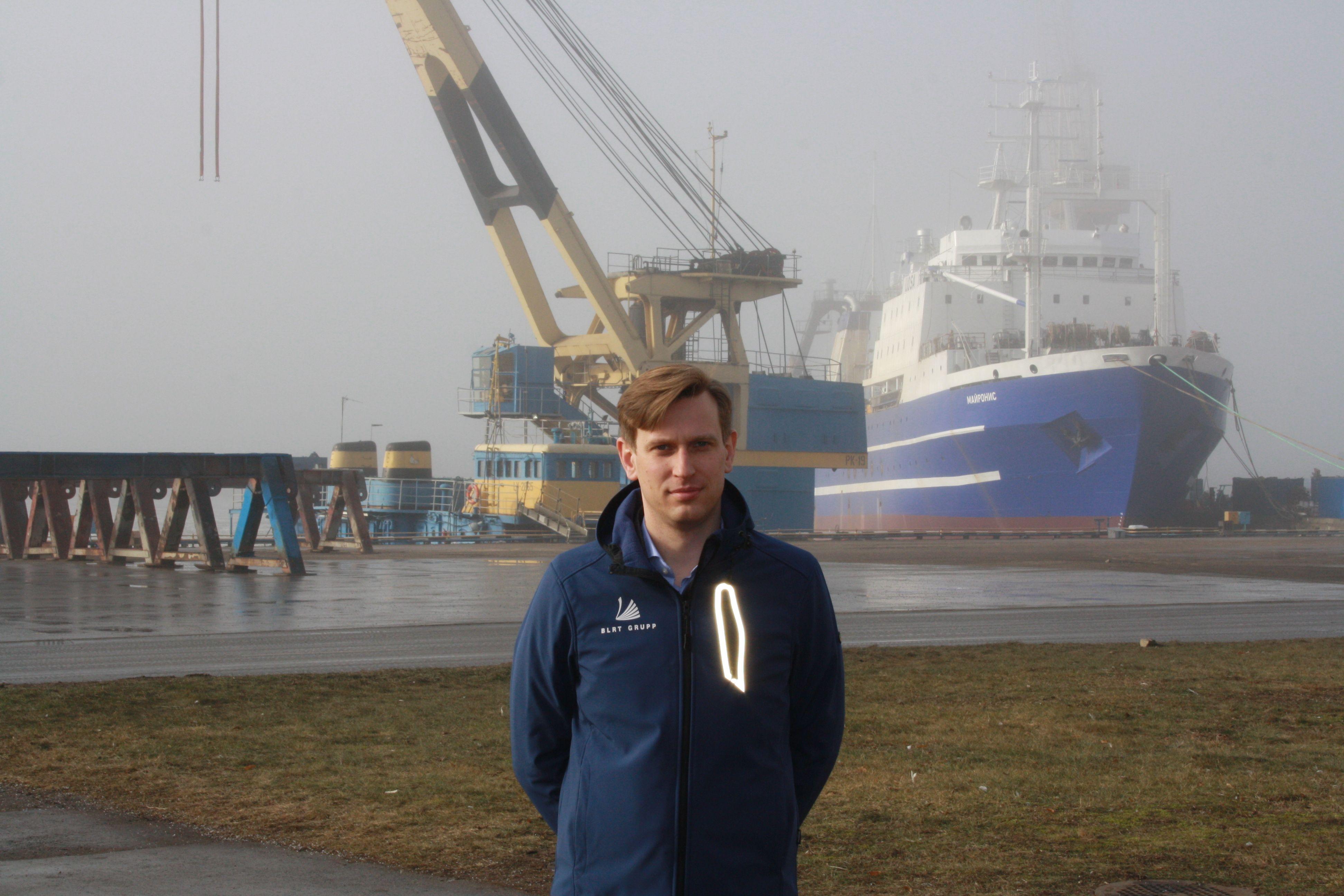 """Marius Arkušauskas, """"Western Baltic Engineering"""" direktorius, pabrėžia, kad pačių nuo pradinės idėjos iki galutinės projektavimo stadijos kuriami ir rinkai siūlomi laivų statybos projektai kompaniją kelia į kitą lygį ir generuoja gerokai didesnę pridėtinę vertę. Mildos Ancevičės (VŽ) nuotr."""