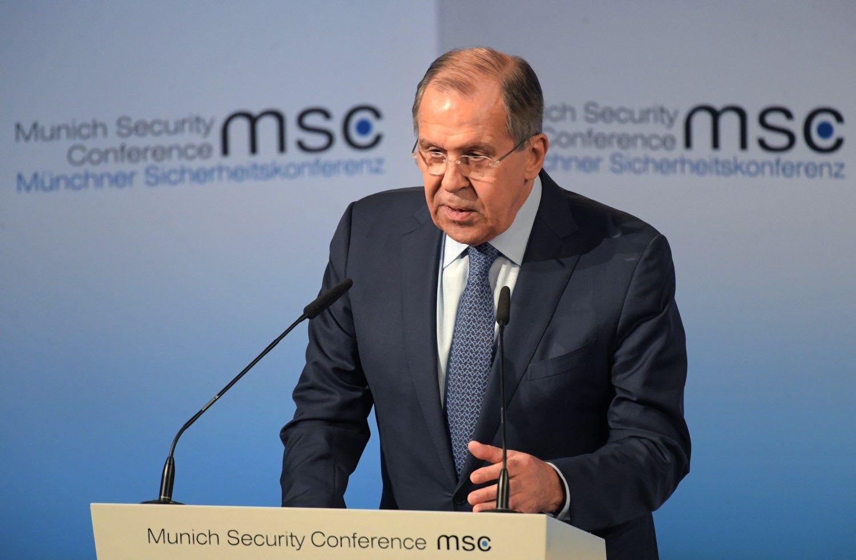 Lavrovas: Rusija nori pragmatiškų santykių su JAV