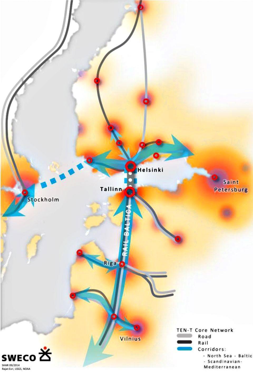 Atsakymas dėl tunelio tarp Talino ir Helsinkio – jau šiemet