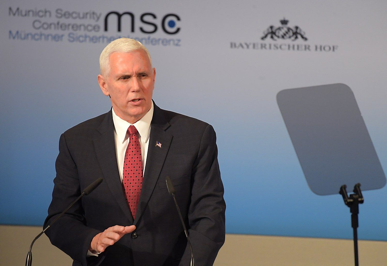 JAV viceprezidentas: Europa nesumoka savo dalies NATO