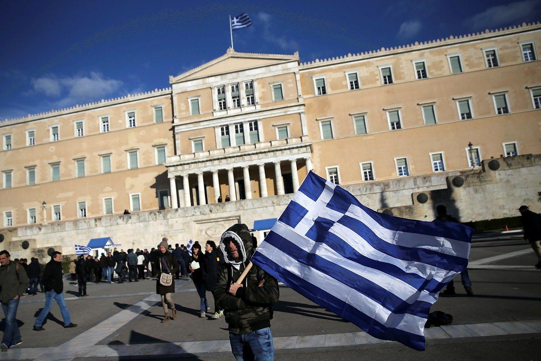 Graikijos skolų krizėje – nedideli pragiedruliai