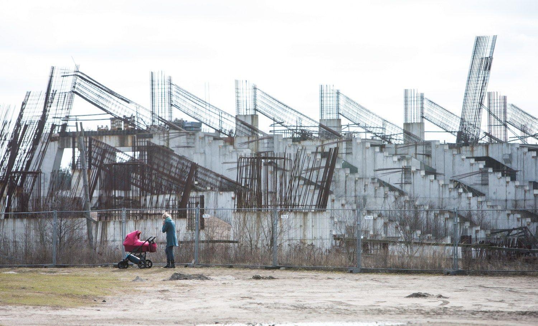 """""""Icor"""" bendrovė bando stabdyti Nacionalinio stadiono koncesijos konkursą"""