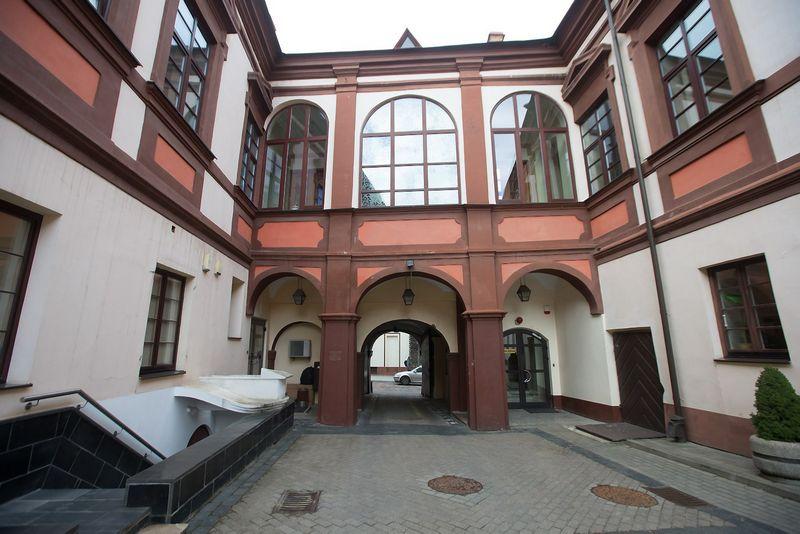 "UAB ""Vilniaus vandenys"" biuras Dominikonų g. 11, Vilniuje. Juditos Grigelytės (VŽ) nuotr."