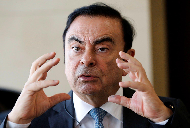 """Carlosas Ghosnas traukiasi iš """"Nissan"""" vadovo posto"""