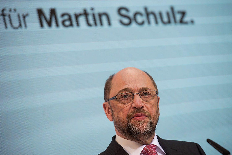 Schulzas Vokietijoje meta kitur jau išbandytą kozirį