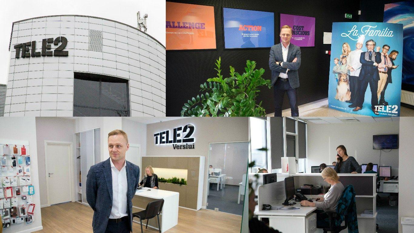 """Pirmosios darbo dienos """"Tele2"""": antroji rinkodaros vadovo kadencija"""