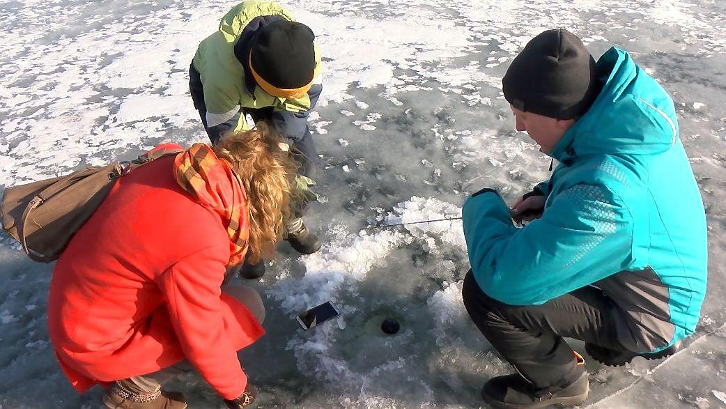 Išmani žvejyba: nosį įkišęs į telefoną pagauni jei ne žuvį, tai bent azartą