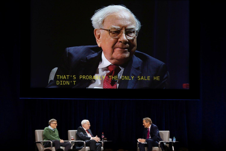 Svarbiausios Buffetto mintys iš šiųmečio laiško investuotojams