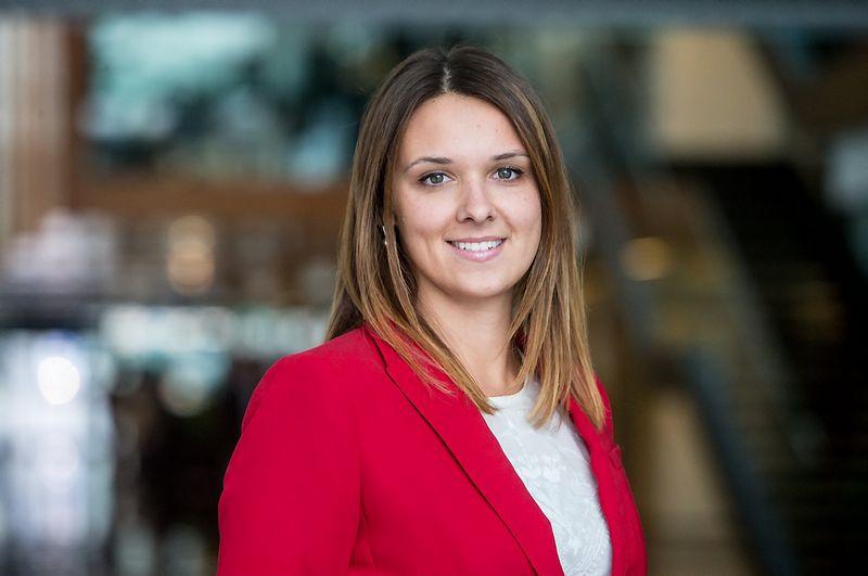 """Laura Galdikienė, banko """"Swedbank"""" vyresnioji ekonomistė. Juditos Grigelytės (VŽ) nuotr."""