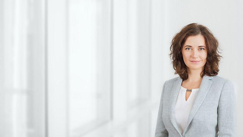 """Akvilė Bosaitė, advokatų kontoros """"Cobalt"""" partnerė. Bendrovės nuotr."""