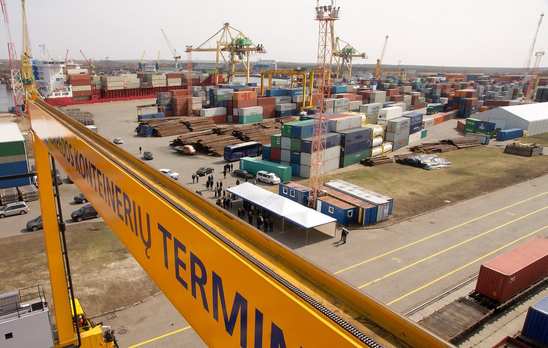 Suomiai įvertino Klaipėdos konteinerių terminalo krovos greitį