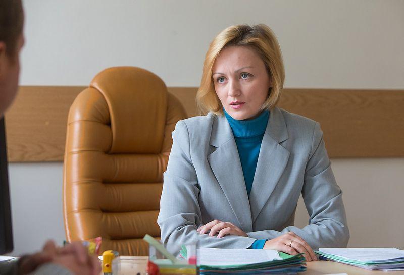 Laura Nalivaikienė, Valstybinės teritorijų planavimo ir statybos inspekcijos prie Aplinkos ministerijos viršininkė. Juditos Grigelytės nuotr.