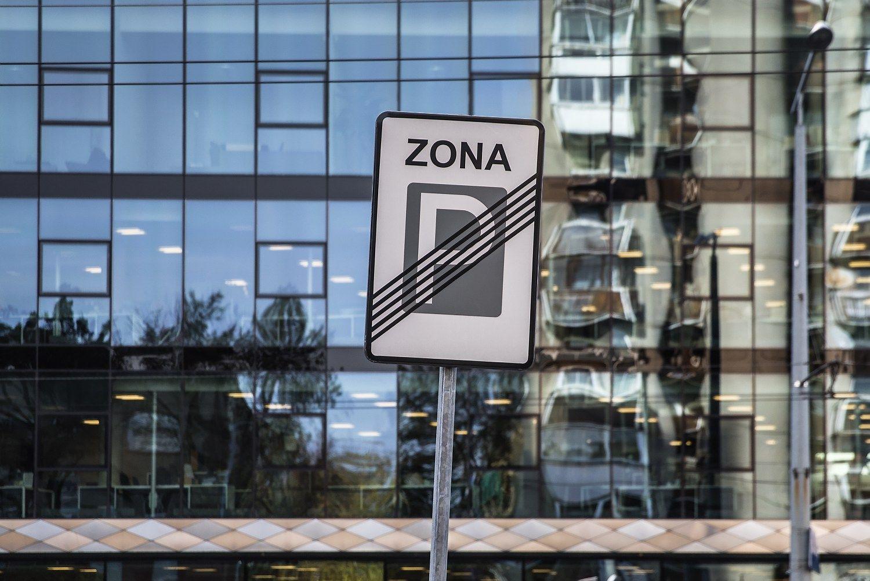 Parkavimas Vilniaus raudonojoje zonoje brangsta 67%