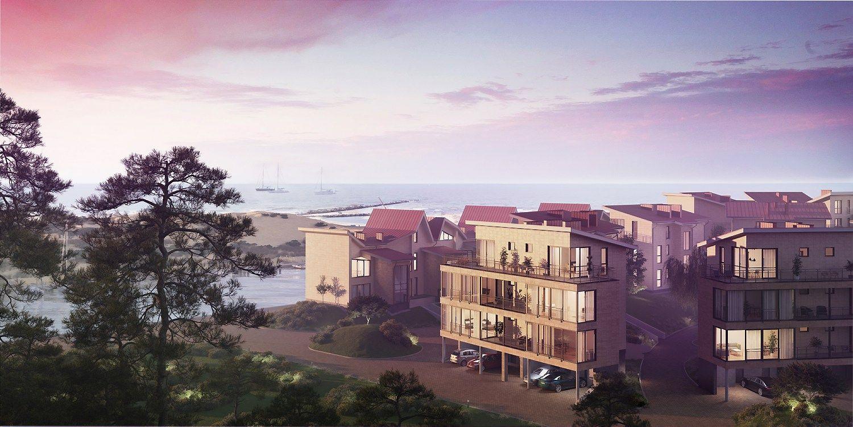 Šventosios uosto kaimynystėje kuriamas naujas kvartalas