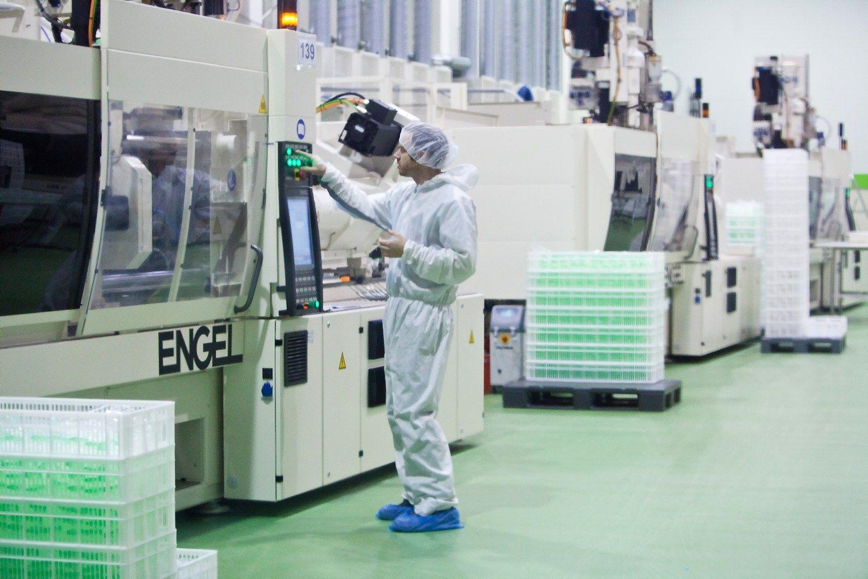 Įmoniųtechnologinį perginklavimą skatina algos, stabdo nepasiekianti ES parama