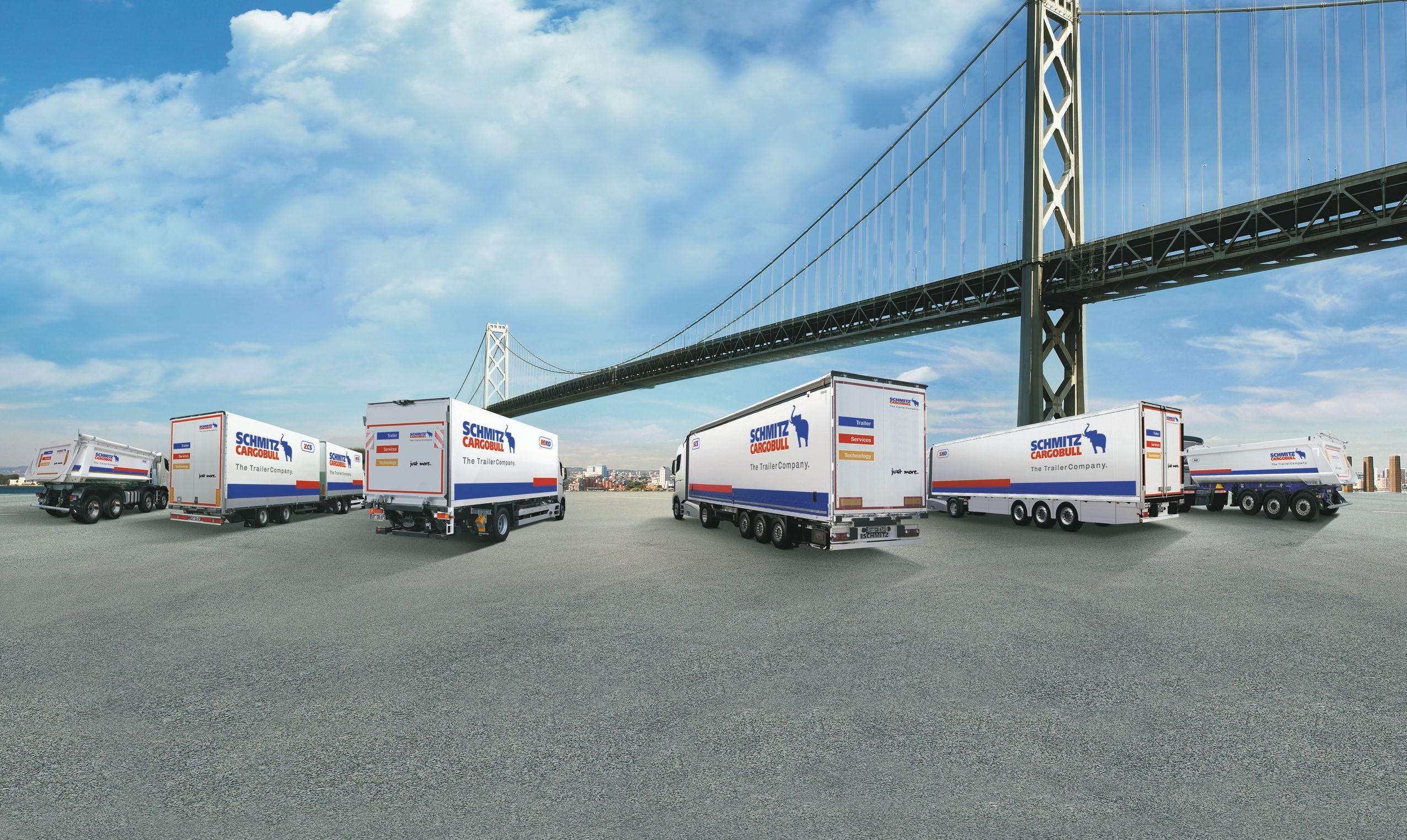 """Rekordiniai puspriekabių pardavėjų metai: rinka augo, """"Schmitz Cargobull"""" – dar labiau"""