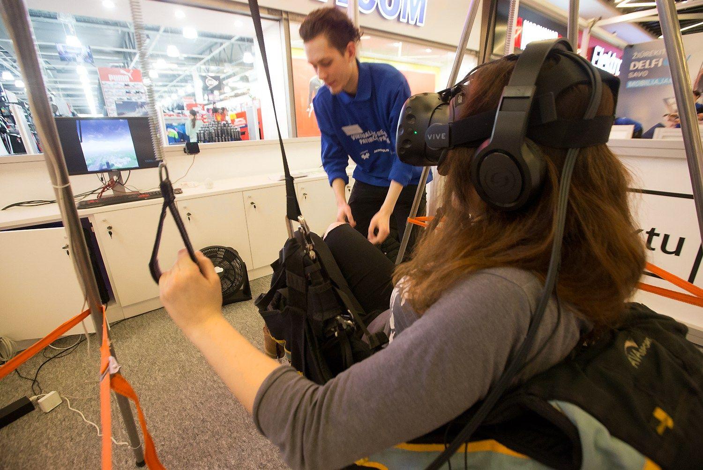 Vilniuje – virtualios realybės patirčių paroda
